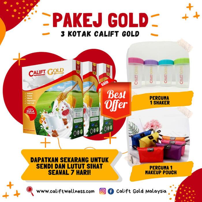 Pakej Gold – 3 Kotak Calift Gold (SM)